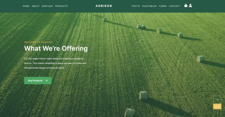 Agrikon - Organic Food & Agriculture WooCommerce Theme